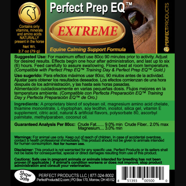 Perfect Prep EQ Extreme Label image number null