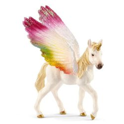 Schleich Winged Rainbow Unicorn Foal Kids' Toy