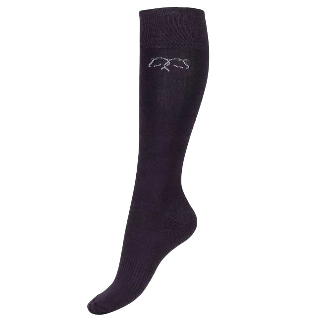 Horze Phoebe Winter Sock - Plum Perfect image number null