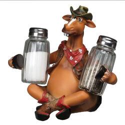 Rivers Edge Salt and Pepper Shaker - Horse