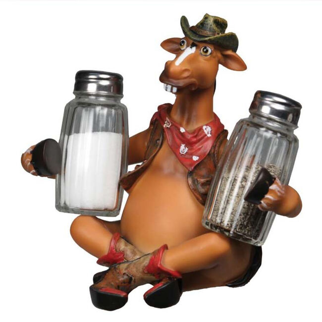 Rivers Edge Salt and Pepper Shaker - Horse image number null