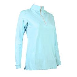 Tailored Sportsman Long Sleeve Icefil Zip Top Shirt
