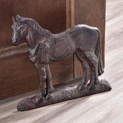 GiftCraft Cast Iron Horse Door Stopper