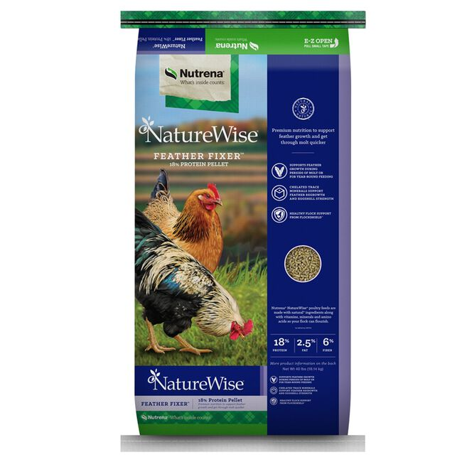 Nutrena NatureWise Feather Fixer Poultry Feed image number null