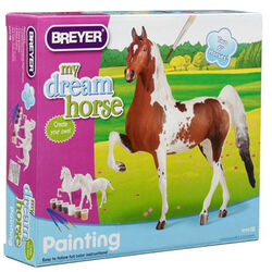 Breyer Paint Your Own Horse Activity Kit - Quarter Horse and Standardbred