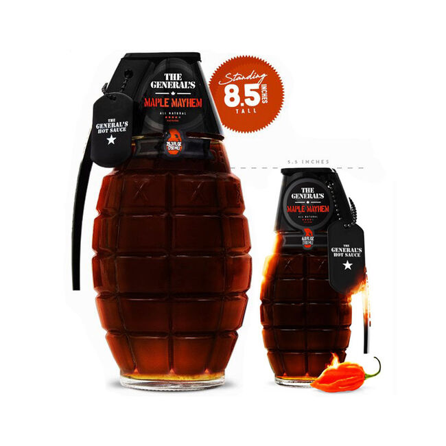 """The General's Hot Sauce - """"Maple Mayhem"""" image number null"""
