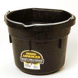 DuraFlex Advanced 12 Quart Rubber Flatback Bucket