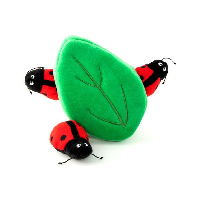 ZippyPaws Ladybugs in Leaf Zippy Burrow image number null