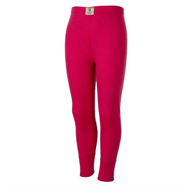 Janus Wool Kids' Wool Leggings - Pink image number null