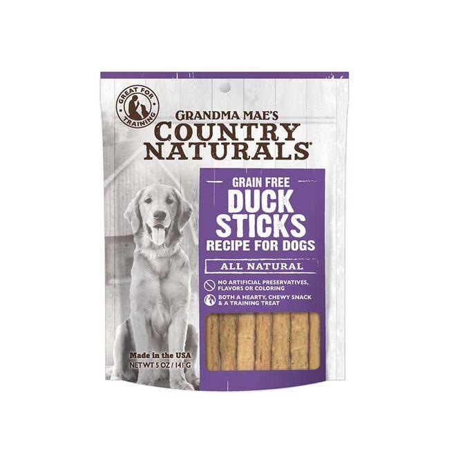 Grandma Mae's Grain Free Duck Sticks 5 oz image number null