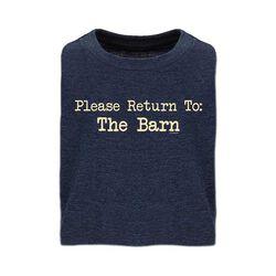 Stirrups Please Return To Barn Kids' Short Sleeve Tee