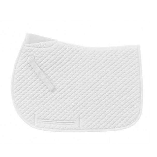 Ovation Mini Diamond Quilt Jump Pad  -White image number null