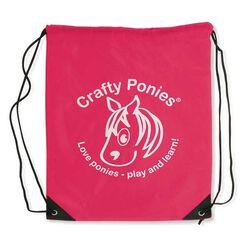 Crafty Ponies Logo Backpack