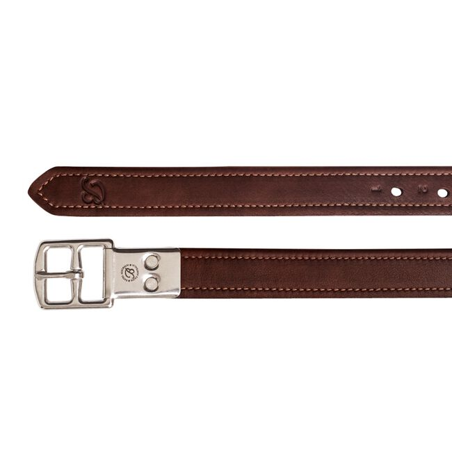 Bates Heritage Leather Stirrup Leathers - Brown image number null