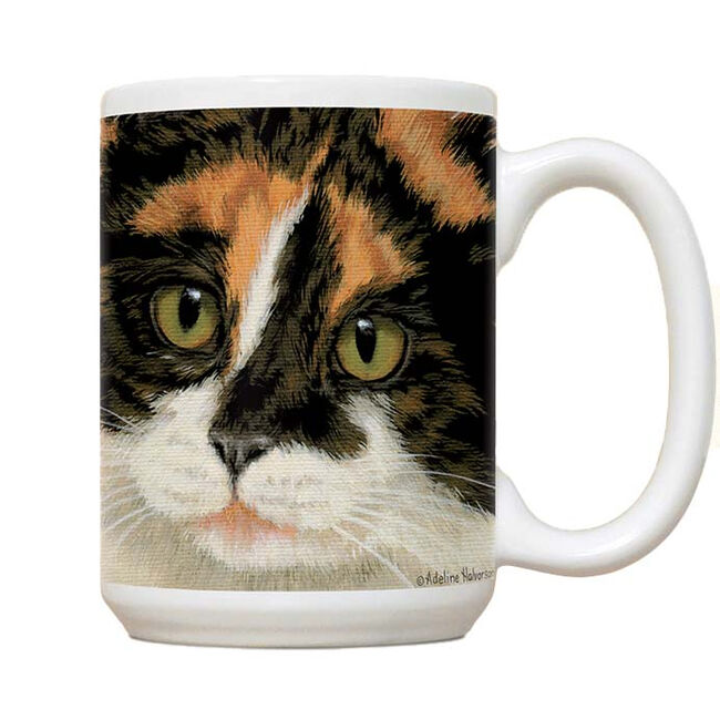Fiddler's Elbow Calico Cat Mug  image number null