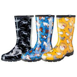 Sloggers Women's Rain & Garden Boot
