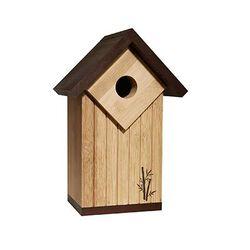 Ultimate Renewable Bamboo Contemporary Bluebird House