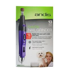 Andis EasyClip Corded Nail Grinder 2-Speed 12 Piece Kit