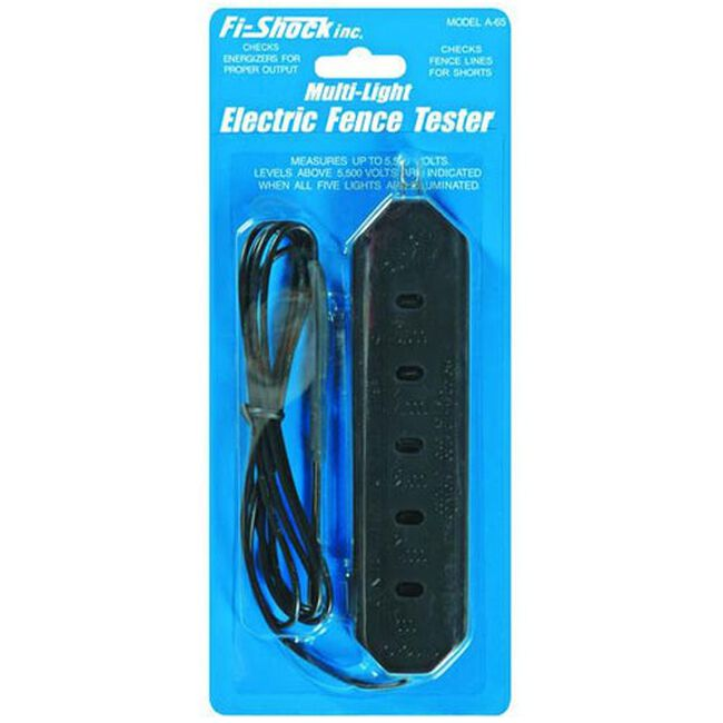 Fi-Shock Multi-Light Electric Fence Tester image number null