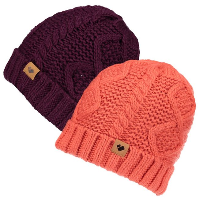 Obermeyer Ladies Phoenix Cable Knit Hat image number null
