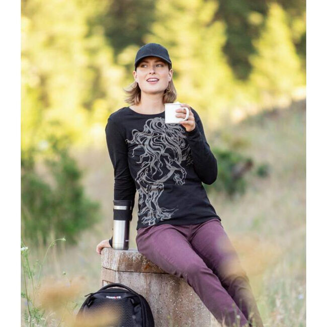 EQL by Kerrits Horse Haven Long Sleeved T-Shirt image number null