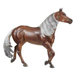 Breyer Traditional Latigo Dun It Trick Roping Superstar Horse Model