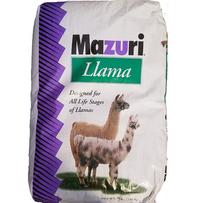 Mazuri Llama Diet High Fiber Coarse Textured image number null