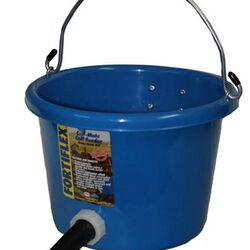 Calf Mate Feeder 8 Quart Bucket Blue
