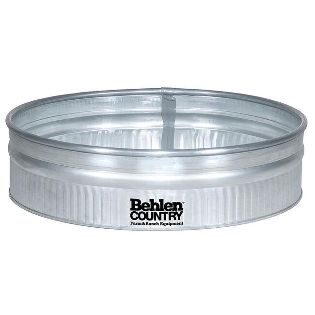 Behlen 4' Shallow Galvanized Round Tank image number null
