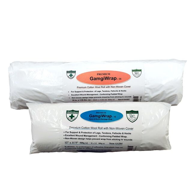 America's Acres GamgiWrap 100% Wool Padding with Non-Woven Cover image number null
