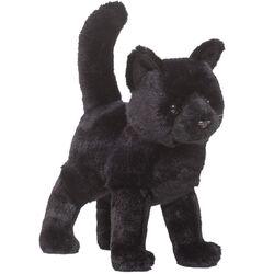 Douglas Midnight Black Cat Plush Toy