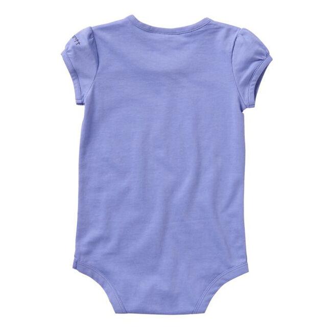 "Carhartt Girls' ""Little Filly"" Short Sleeve Graphic Bodysuit image number null"
