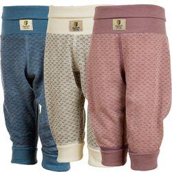 Janus Baby Wool Blend Jacquard Print Pants