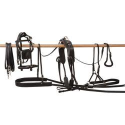 Tough-1 Tracker Leather Pony Harness