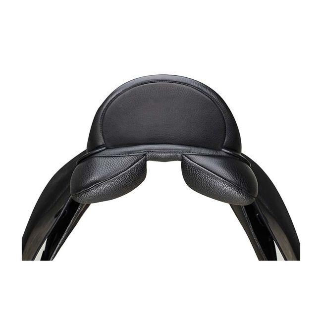 """Arena Dressage Saddle by Bates-Black-17.5"""" Wide image number null"""