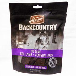 Merrick Backcountry Big Game Real Lamb & Venison Jerky Dog Treats
