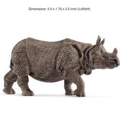 Schleich Indian Rhinoceros Kids' Toy