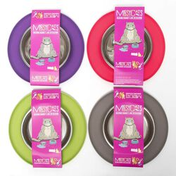 Messy Mutts Silicone Cat Feeder Bowls