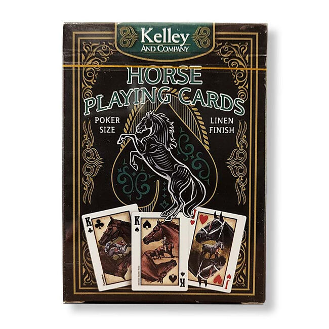 Kelley Equestrian Playing Cards Single Deck image number null