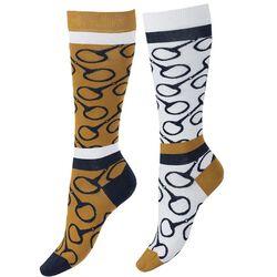 Horze Jacquard Knit Riding Knee Socks