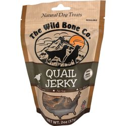 The Wild Bone Company Quail Jerky Natural Dog Treat