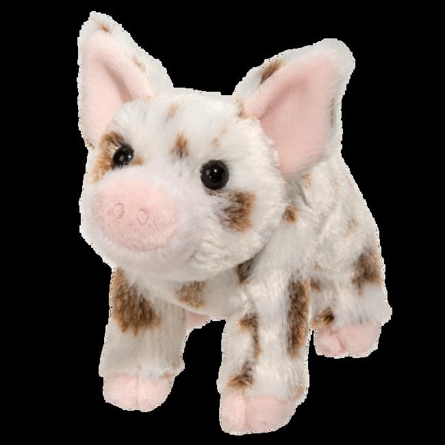 Douglas Yogi Pig W/Brown Spots Plush Toy image number null