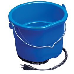 API 10 Quart Heated Flat Back Bucket