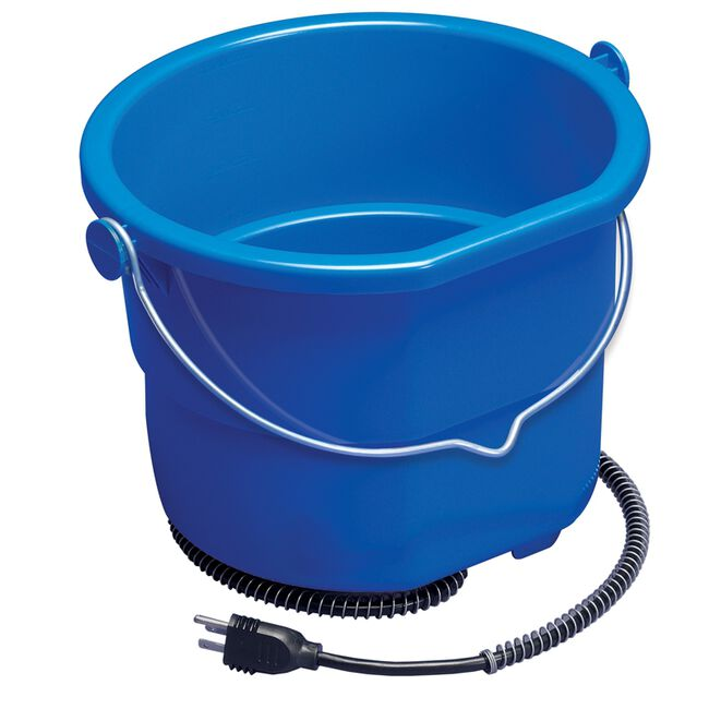 Miller 10 Quart Heated Flat Back Bucket  image number null