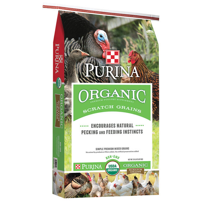 Purina Organic Scratch Meal image number null