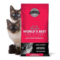 World's Best Multiple Cat Clumping Litter