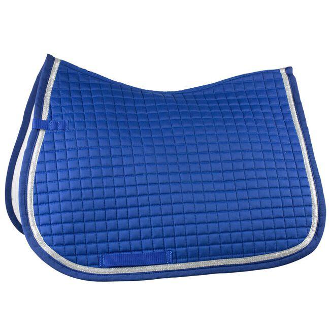 Horze Thun All Purpose Saddle Pad - Mazarine Blue image number null