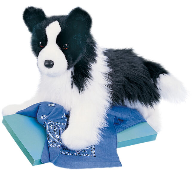 Douglas Chase Border Collie Plush Toy image number null