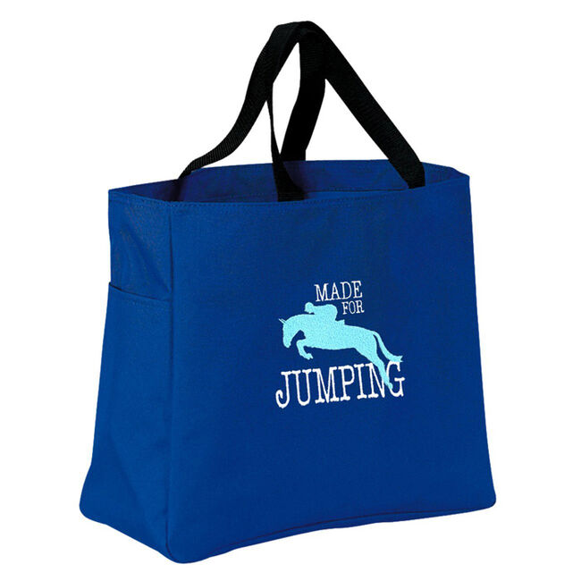 Stirrups Made for Jumping Tote Bag image number null
