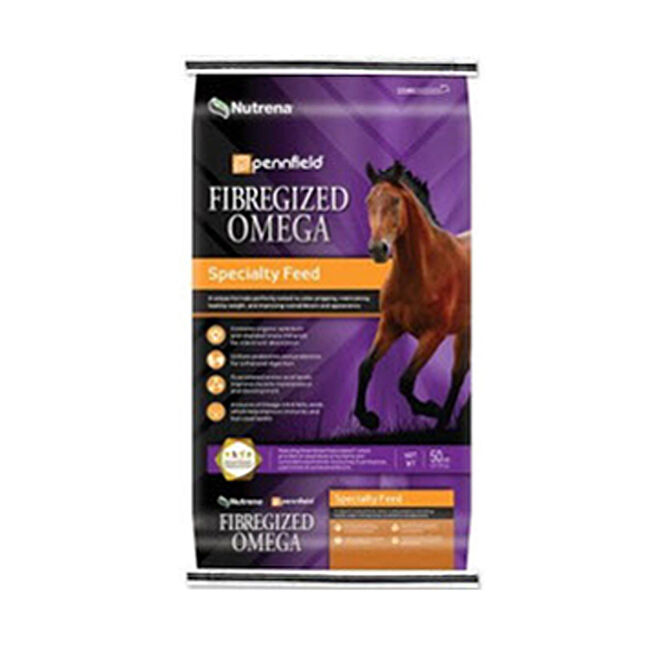 Nutrena  Pennfield Fibregized Omega Horse Feed image number null